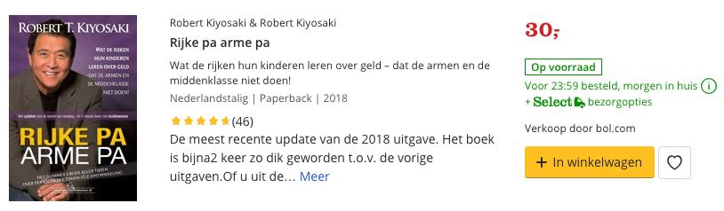 Review rijke pa arme pa
